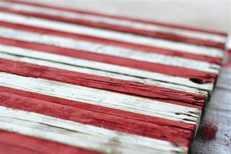 Diy Reclaimed Wood American Flag Template For Pallet Flag