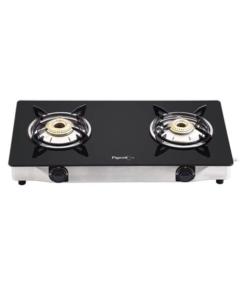 Two Burner Gas Cooktop Pigeon 2 Burner Glass Top Gas Stove Favorite Price In