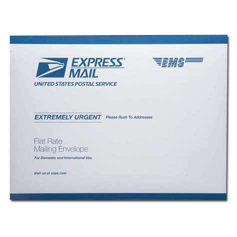 Post Office Envelopes by Express Mail Contract Post Office Kansas State