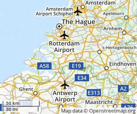 netherlands the hague map cheap flights to the hague the netherlands euroflights info