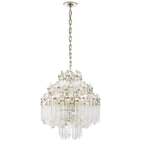 Lighting Fixtures Chandeliers Adele Four Tier Waterfall Chandelier Circa Lighting