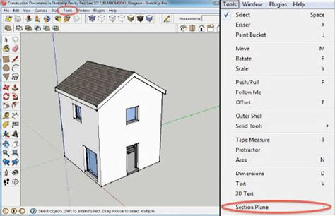 sketchup layout section cuts retired sketchup blog creating a plan of your sketchup