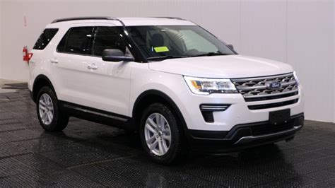 New 2018 Ford Explorer by New 2018 Ford Explorer Xlt In Quincy F106467 Quirk Ford