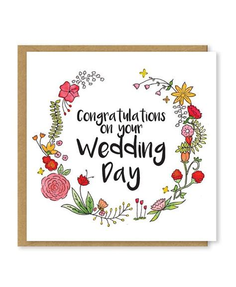 Happy Wedding Card Template by Best 25 Congratulations Wedding Messages Ideas On