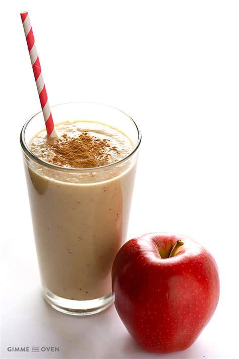 Apple Banana Detox Smoothie by Healthy Apple Pie Smoothie Gimme Some Oven