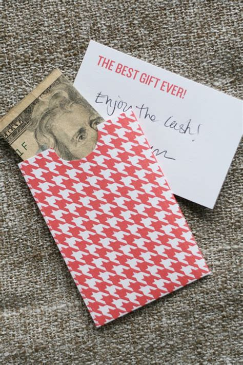 How To Make Gift Cards Into Cash - 14 creative money gift and cash gift tutorials tip junkie