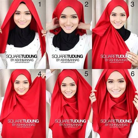 tutorial hijab chic simple 25 inspirasi tutorial hijab segi empat terbaru 2018