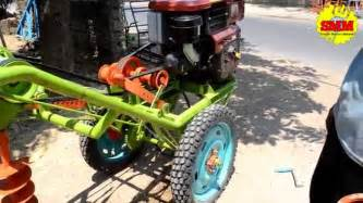 Mesin Bor Portable bor tanah dengan roda mesin bor tanah