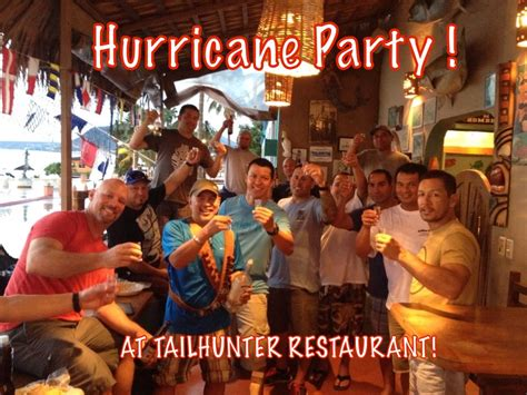 hurricane party september 2014 tailhunter fish report