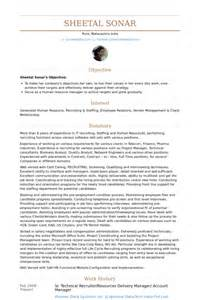 Technical Recruiter Resume Example   BestSellerBookDB