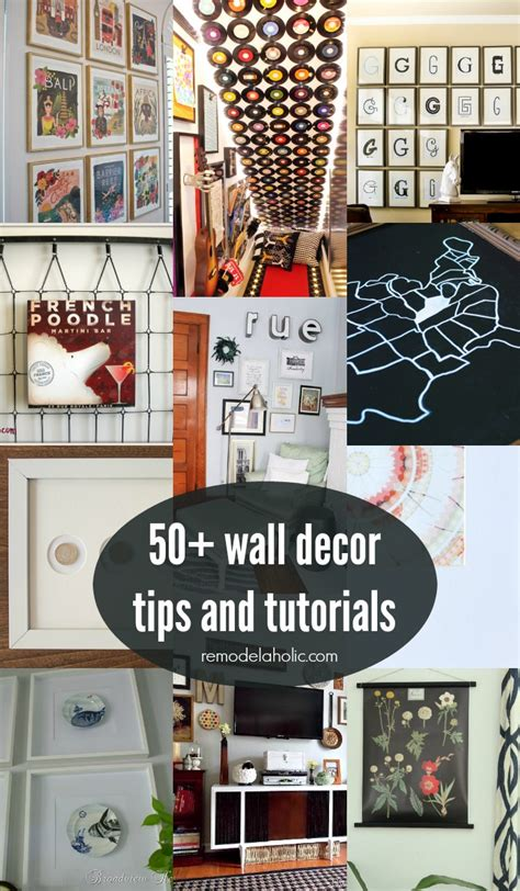50s wall decor 50 wall decor tips and ideas remodelaholic bloglovin