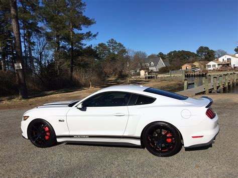 blacked out mustangsblacked out nissan altima 2016 mustang gt with roush scoops spoiler accent stripes
