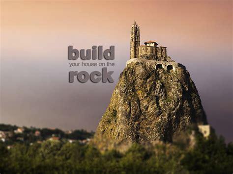 build house rock castle top wallpaper http