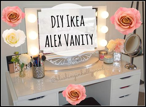 diy ikea diy makeup vanity from ikea parts onideas co