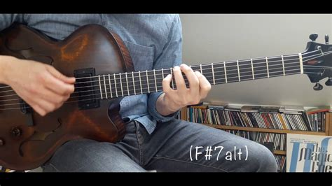 Jam Weker Mini My Melody jazz guitar mini lesson 14 quot my ideal quot chord melody chords chordify