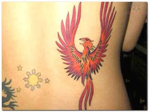 phoenix tattoo on her back phoenix bird tattoo on back japanese tattoos