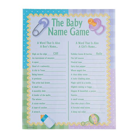 Active Baby Shower by 24 Baby Shower Activity Breaker The Baby