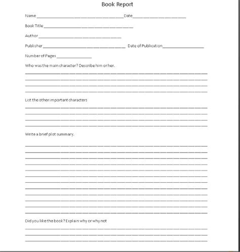 Simple Book Report Forms by Best 25 Book Report Templates Ideas On
