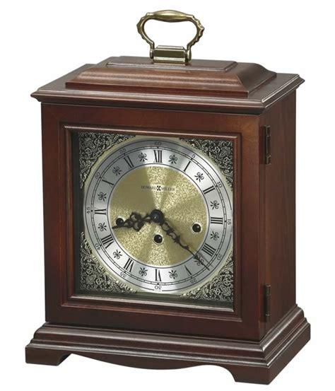 Fireplace Mantel Clocks 612437 howard miller cherry key wound fireplace mantel clock graham