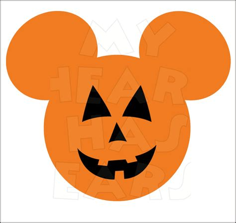 mickey mouse pumpkin faces mickey mouse clipart clipartxtras