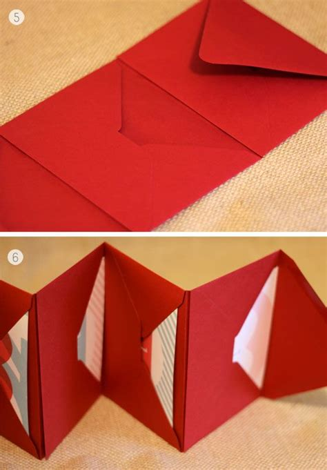 How To Make An Envelope Out Of Notebook Paper - diy s day coupons each day envelope book