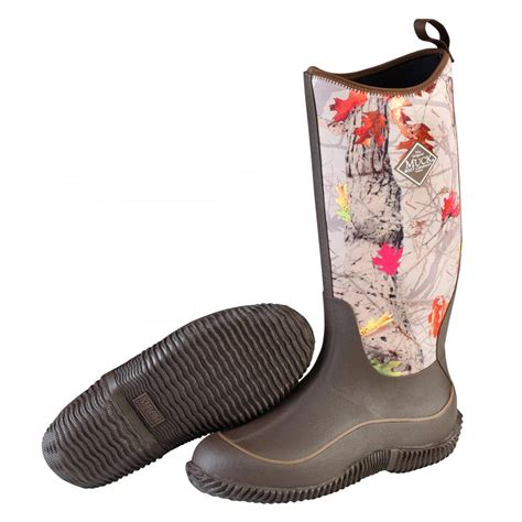 womens camo muck boots muck boots haw htlf s hale multi season boot brown