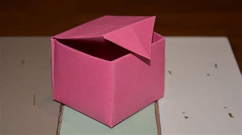 Mit Origami - origami schachtel falten mit papier w