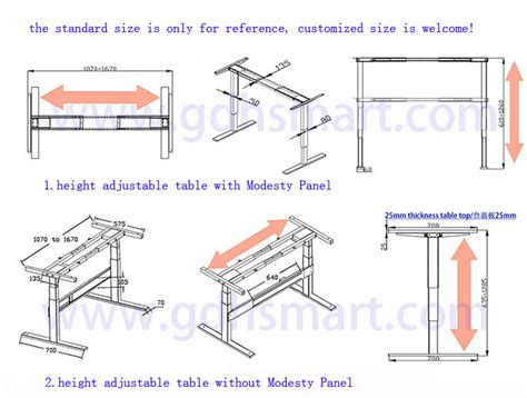 Standard Height For Computer Desk Build Wooden Standard
