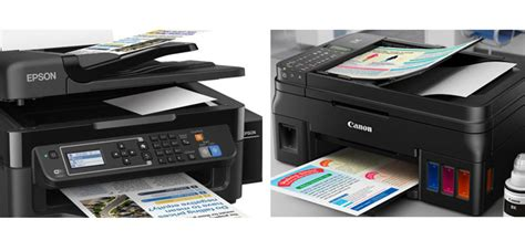 Printer Epson Vs Canon comparison epson l565 vs canon pixma g4000