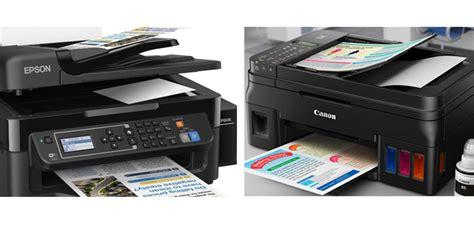 Printer Canon G4000 comparison epson l565 vs canon pixma g4000