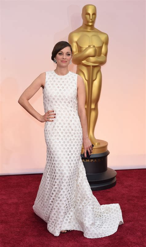 Oscars Carpet Marion Cotillard by Marion Cotillard 2015 Oscars Carpet In