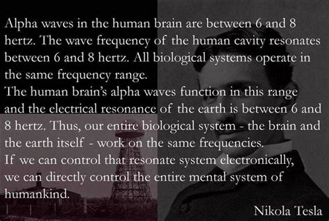Nikola Tesla Resonance Nikola Tesla Resonance Frequency Vibration Earth Energy