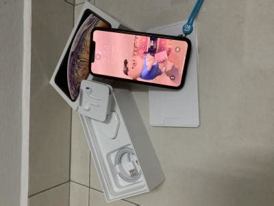 wts iphone xs max 256gb gold myset