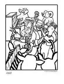 andrea hazard children s books jazz coloring page