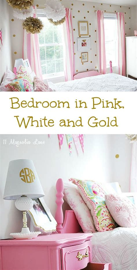 pink and white bedroom decorating ideas pretty pink and gold room decor girl s in white bedrooms interior lighting design