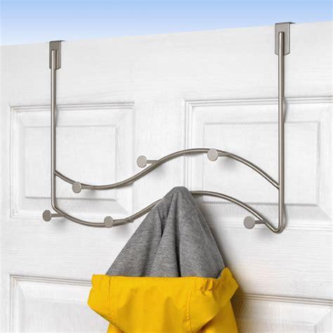 The Door Coat Rack by The Door Sweep Coat Rack Satin Nickel In The