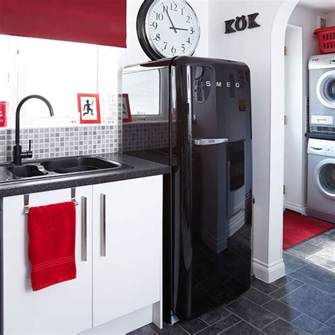 black white and red home decor black red and white kitchen decorating ideal home