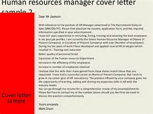 sle cover letter human resources manager resume of human resource manager