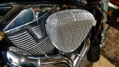 Cover Filter Udara N Max suzuki m109r custom air intakes that i made with edelbrock 1002 filters with gman efi billy