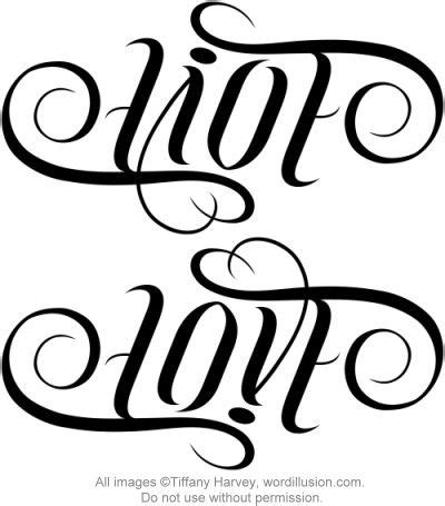 tattoo lettering ambigram free 92 best images about ambigram type on pinterest