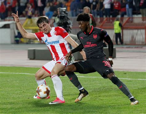 arsenal player ratings against red star belgrade sport ashley maitland niles arsenal player ratings against red