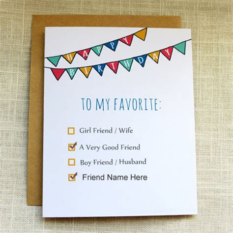 Writing A Birthday Card For Your Best Friend
