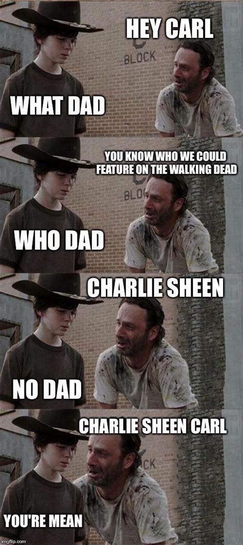 Walking Dead Rick And Carl Meme - 25 best rick and carl meme trending ideas on pinterest