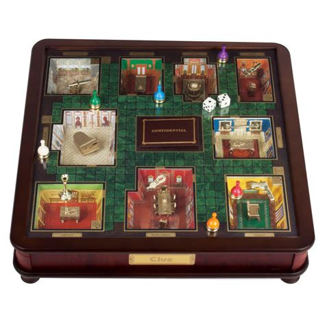 Clue   Luxury 3D Edition   The Green Head