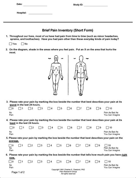printable mcgill pain questionnaire pain diagram form pain get free image about wiring diagram