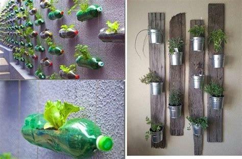 membuat tanaman hidroponik dengan barang bekas berkebun di lahan sempit dengan kebun vertikal