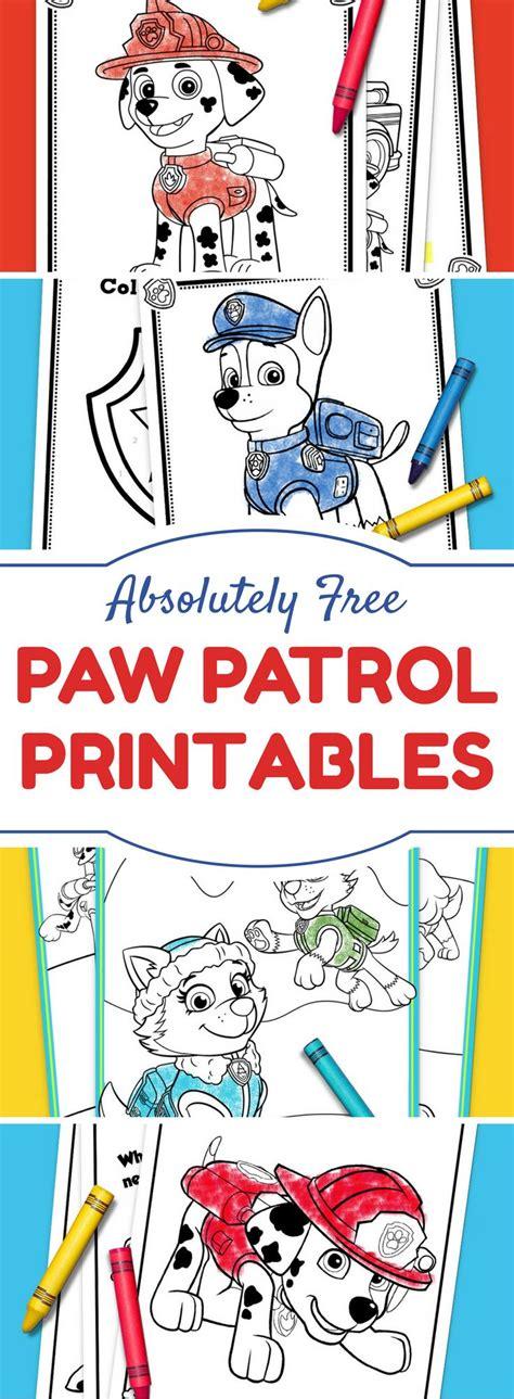 Paw Patrol Birthday Printables