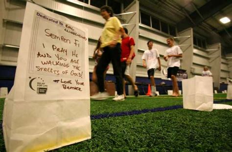 sono field house last minute move doesn t keep crowds from greenwich relay for life greenwichtime