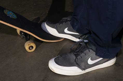 wearing skate shoes nike sb janoski hyperfeel xt skate shoes wear test review