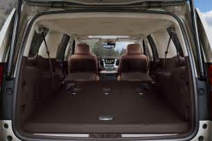 2015 chevrolet suburban interior power fold flat seats